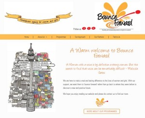 Bounce Forward website 1 - May 2016